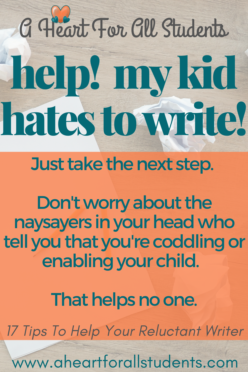 homeschool writing tips, how to help kids who hate to write, reluctant writers