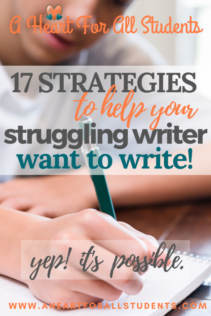 21 tips to help a struggling writer