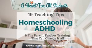 homeschooling and teaching a child with adhd, adhd homeschool strategies