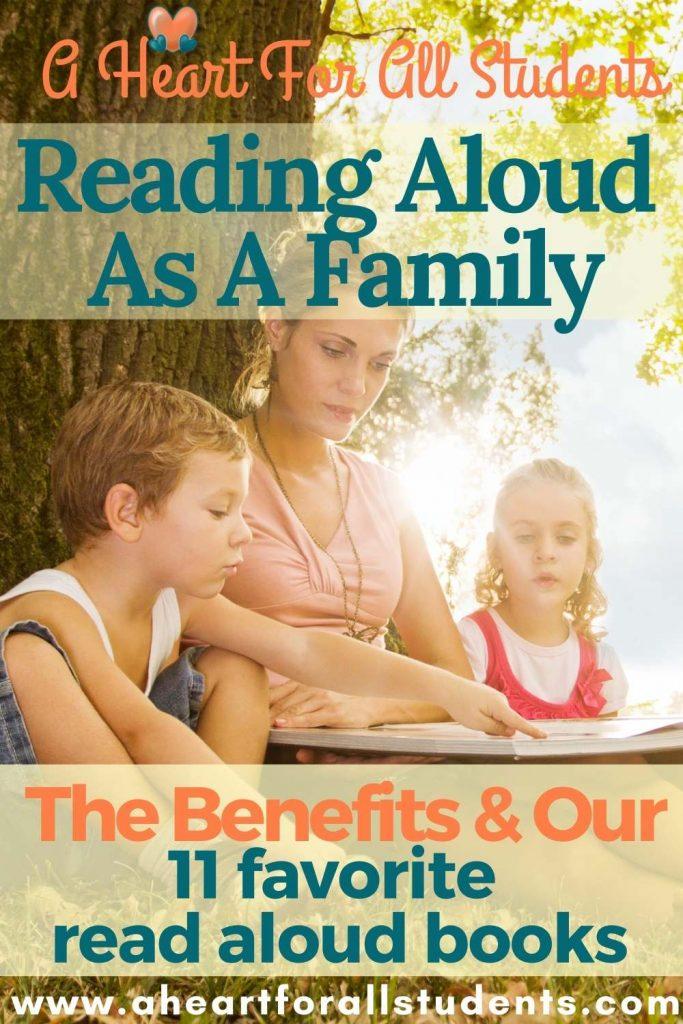 family read aloud, homeschooling book list