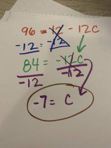 example math reference cheat sheet homeschool